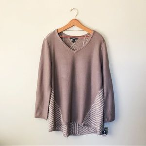 Style & Co. Textured Pullover Knit Sweater